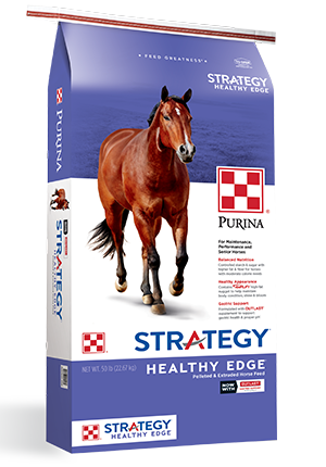 Purina® Strategy® Healthy Edge® Horse Feed
