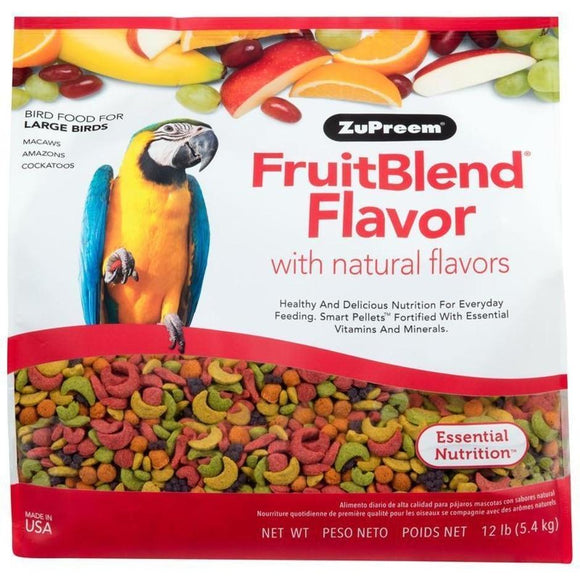 FRUITBLEND WITH NATURAL FRUIT FLAVORS LG PARROT