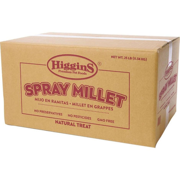 HIGGINS SPRAY MILLET NATURAL AVIAN TREAT