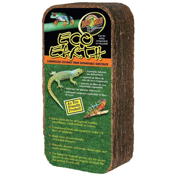 ECO EARTH COMPRESSED COCONUT FIBER SUBSTRATE