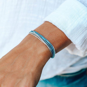 Pura Vida Alzheimer's Awareness Bracelet, Model
