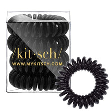 Load image into Gallery viewer, Kitsch Hair Coils Black