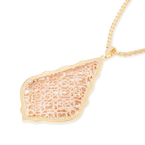 Kendra Scott Aiden Necklace Rose Gold