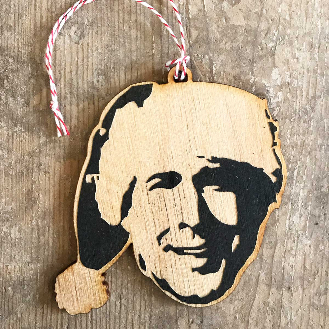 Chevy Chase Christmas Ornament