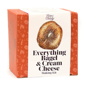 Farm Steady Everything Bagel & Cream Cheese Making Kit