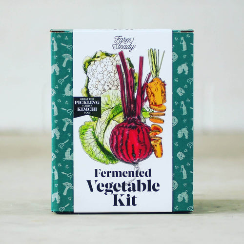 Farm Steady Fermented Vegetable Kit, Box