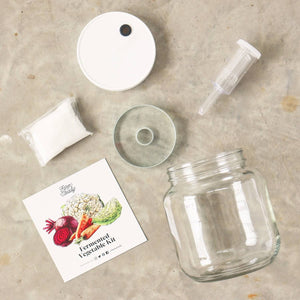 Farm Steady Fermented Vegetable Kit, Contents