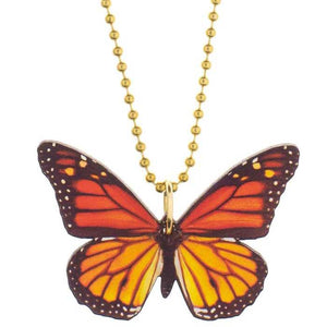 Gunner & Lux Monarch Butterfly Necklace