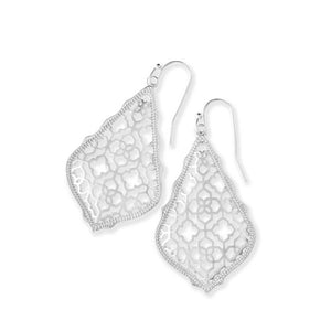 Kendra Scott Addie Earrings Silver