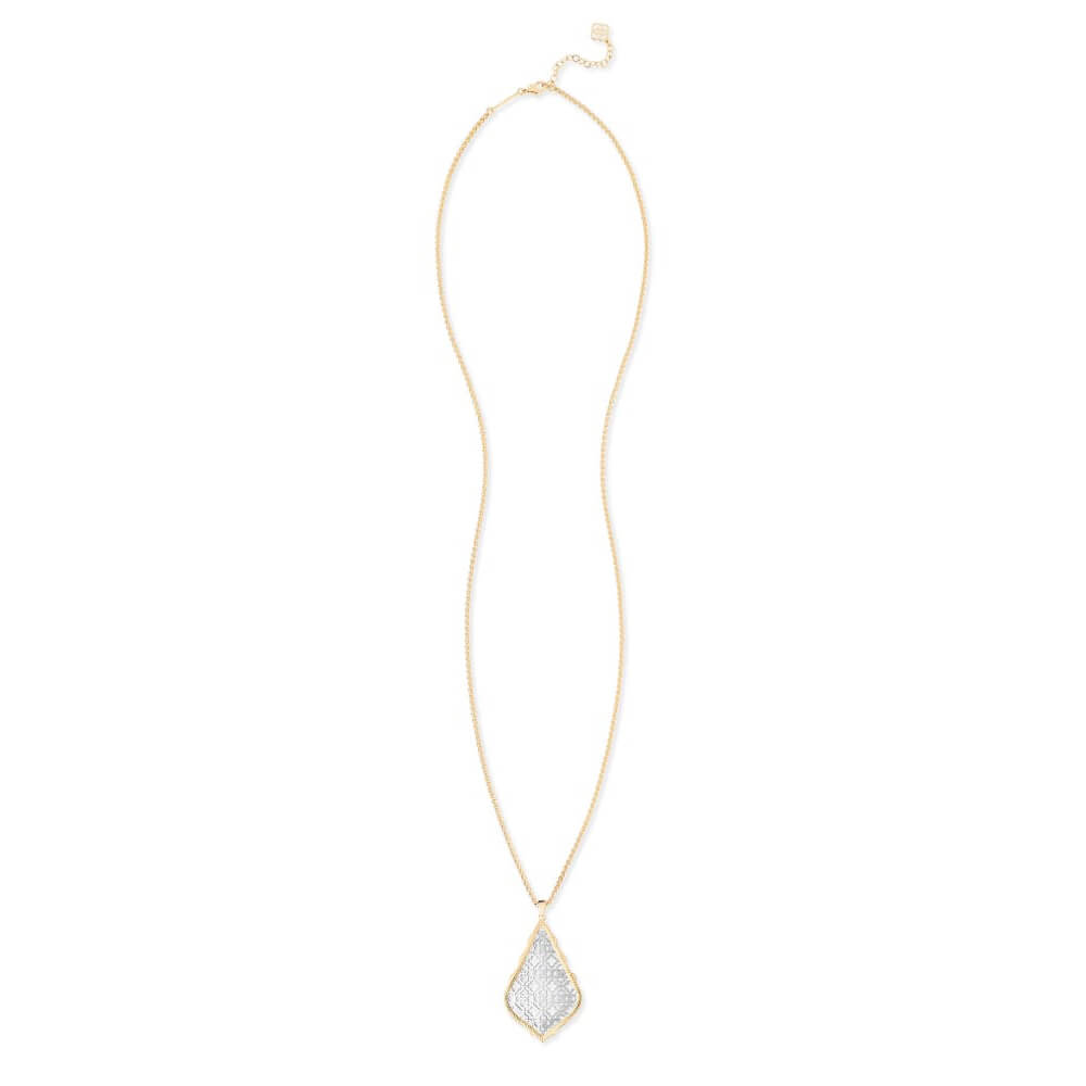Kendra Scott Aiden Necklace Silver