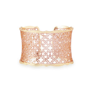 Kendra Scott Candice Cuff Rose Gold
