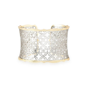 Kendra Scott Candice Cuff Silver and Gold