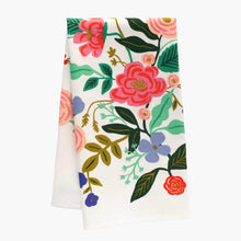 Load image into Gallery viewer, Rifle Paper Company Floral Vines Tea Towel