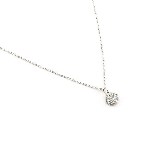 Tai Jewelry Disc Necklace Silver