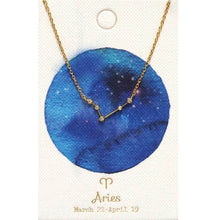 Load image into Gallery viewer, Tai Jewelry Zodiac Necklace Aries