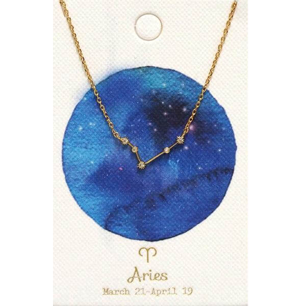 Tai Jewelry Zodiac Necklace Aries