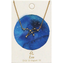 Load image into Gallery viewer, Tai Jewelry Zodiac Necklace Leo