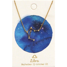 Load image into Gallery viewer, Tai Jewelry Zodiac Necklace Libra