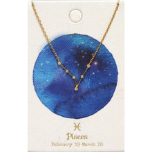 Load image into Gallery viewer, Tai Jewelry Zodiac Necklace Pisces