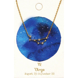 Tai Jewelry Zodiac Necklace Virgo