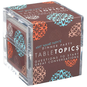 Table Topics Not Your Mom's Dinner Party, Front