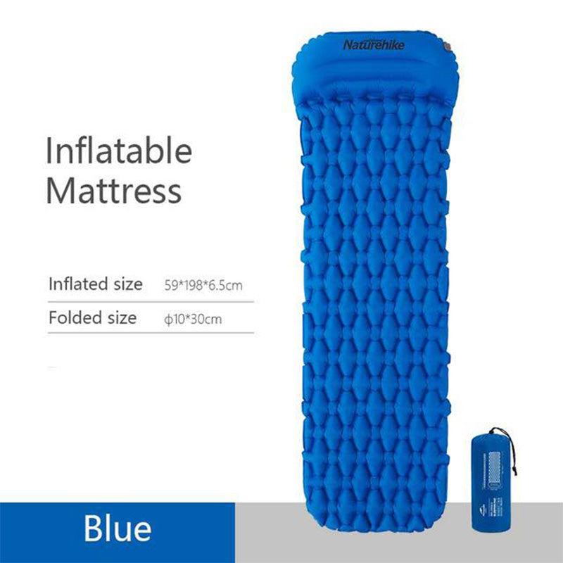 Diamond Inflatable Mat with Pillow FC-12