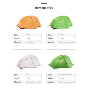 Star-River 2 Ultralight Tent 210T