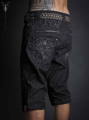 Corsaire Men / Cotton Printed Black_ SANDOFTIME