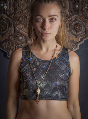 Crop-Top Woman / Himalayan Bling _ PSYGALAK