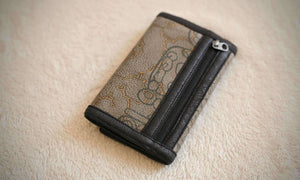 Wallet / Fake Leather - Yacxilan Artwear