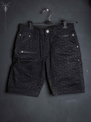 Flying Shorts Kid / Cotton Printed _ MIDNIGHT
