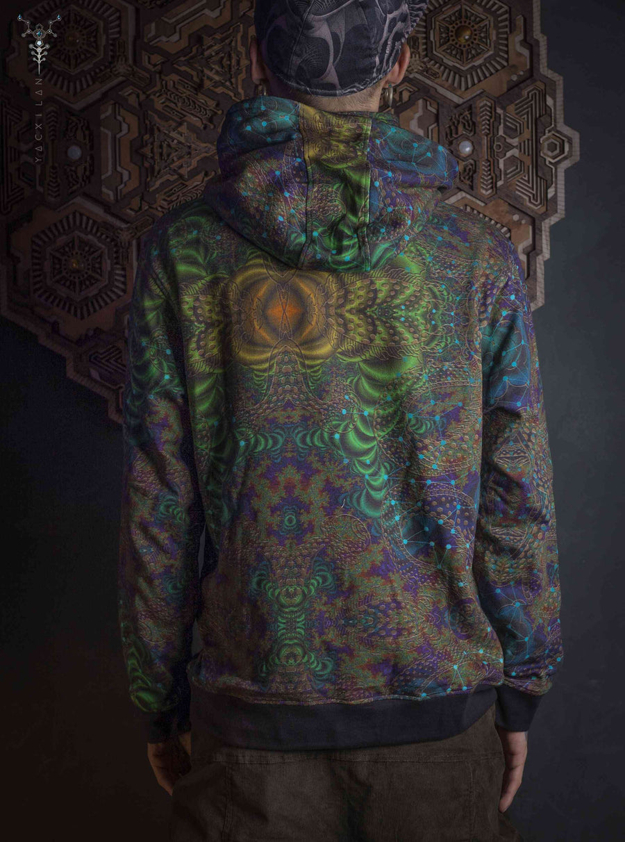 Hoodie Men / Cotton Fleece PullOver All Over Print _ ENT