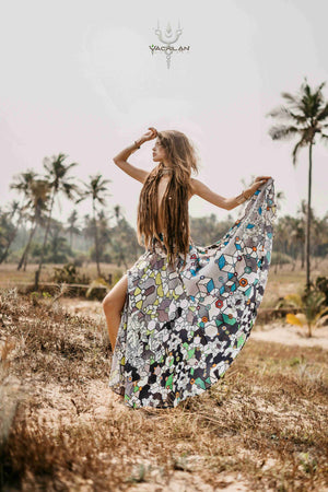 Gipsy Long Skirt / Bamboo_SHAMANKA