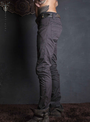 Long Pants Men / Plain _ NEW ENKI PIMP Strippes - Yacxilan Artwear
