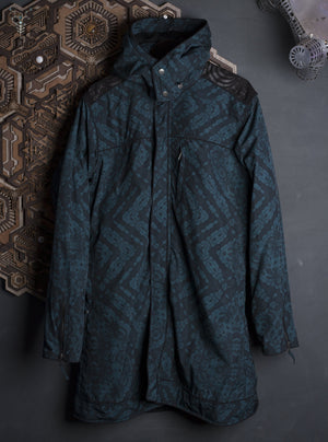 Long Vest Men / Waterproof _ BOTTLGREEN MAORIBONES