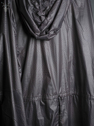 Rain Coat Woman / Simple Plain _ TRIPPY GREY