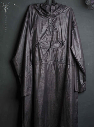 Rain Coat Men / Grey Toffeta _ TRIPPY - Yacxilan Artwear