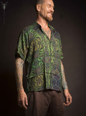 Shirt Men Half Sleeves / Bamboo Fibers _ ENT