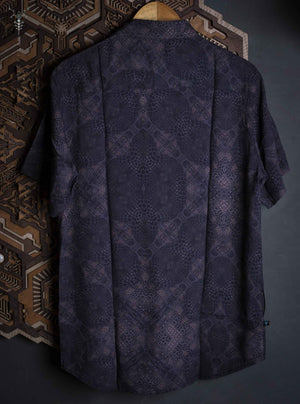 Shirt Men Half Sleeves / Bamboo _ DARK GATOR