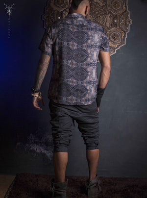 Shirt Men Half Sleeves / Bamboo_ GATOR X