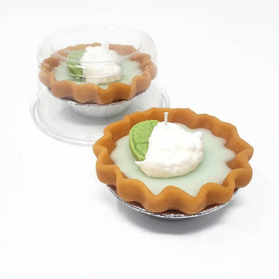 "3"" Pie Candle - Key Lime"