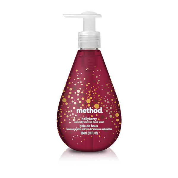 gel hand wash 354ml - hollyberry