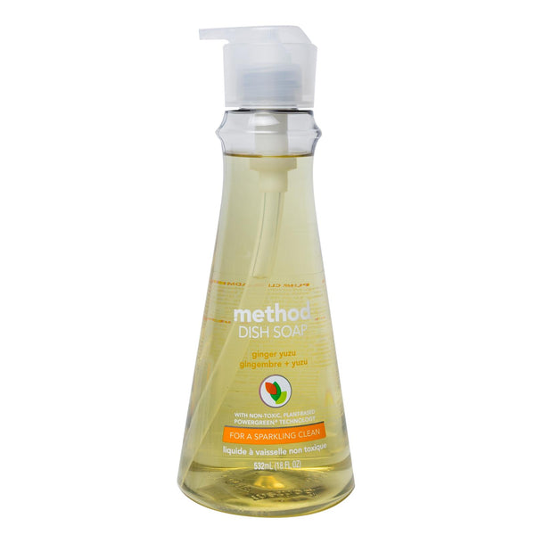 dish soap 532ml - ginger yuzu