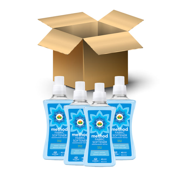 (carton of 4) fabric softener 1.58L - fresh air