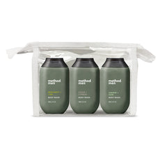 men's travel size body wash kit 2 100ml