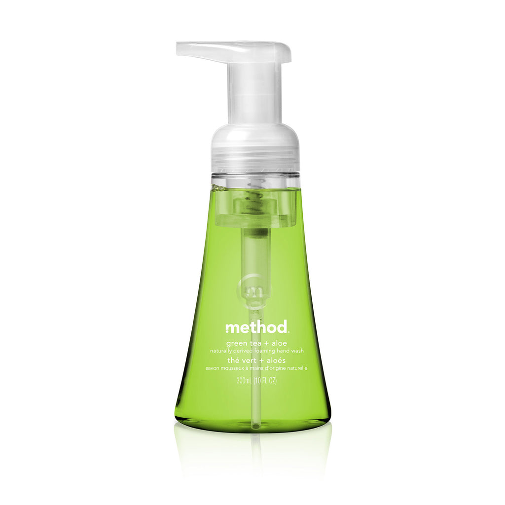 foaming hand wash 300ml - green tea + aloe