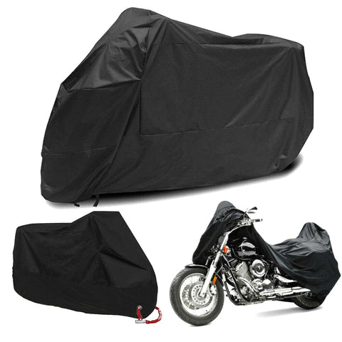Motorcycle Cover Waterproof BLACK