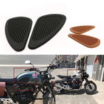 Motorcycle Retro Anti Slip Tank Pads