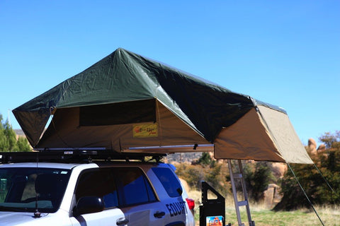 Fun roof top tent by Eez-Awn