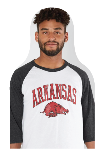 Razorbacks Fan Cutout